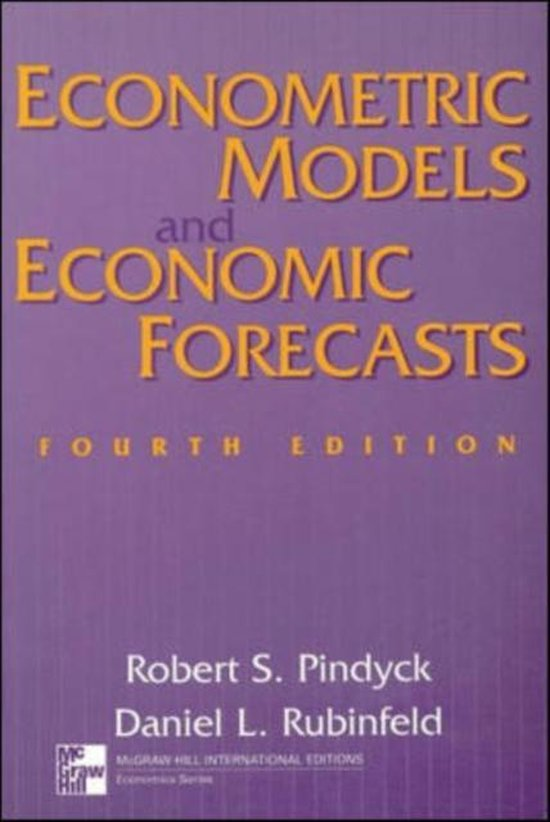 9780071158367-Econometric-Models-and-Economic-Forecasts