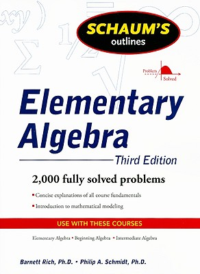 9780071611633-Schaums-Outlines-Elementary-Algebra