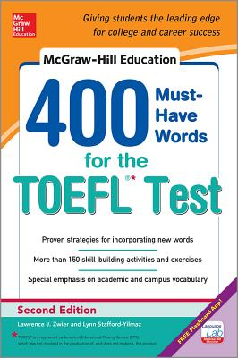 9780071827591-McGraw-Hill-Education-400-Must-have-Words-for-the-TOEFL