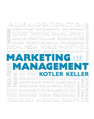 9780133856460-Studyguide-for-Marketing-Management-by-Kotler-Philip-ISBN-9780133856460