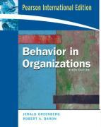 9780136006879-Behavior-In-Organizations