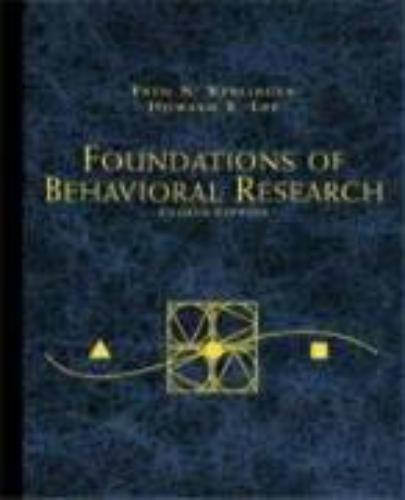 9780155078970-Foundations-of-Behavioral-Research