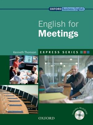 Eng For Meetings Sb & Mu-rom Pk