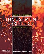Investment Science Internat Ed P