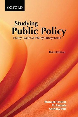 Studying Public Policy 3e P