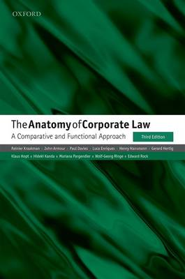 9780198724315-The-Anatomy-of-Corporate-Law