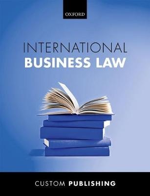 Custom Groningen Intertnational Business Law