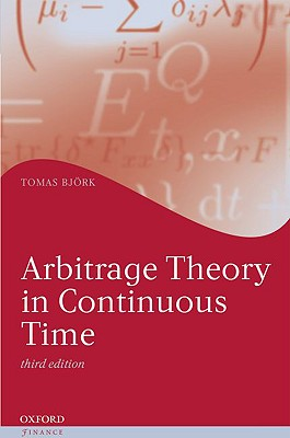9780199574742-Arbitrage-Theory-in-Continuous-Time