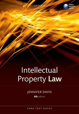9780199581429-Intellectual-Property-Law-Core-Text