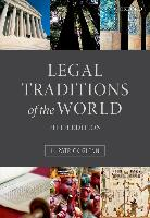 9780199669837-Legal-Traditions-of-the-World