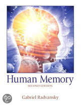 9780205734825-Outlines--Highlights-for-Human-Memory-by-Gabriel-Radvansky-ISBN