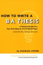 9780226481265-How-to-Write-a-BA-Thesis