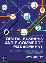 Digital Business and E-Commerce Manageme