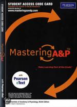 9780321741721-MasteringAP-with-Pearson-EText---Valuepack-Access-Card---for-Fundamentals-of-Anatomy--Physiology-ME-Component