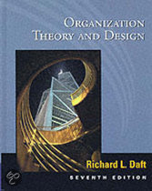 9780324021004-Organization-Theory-and-Design-7th-edition