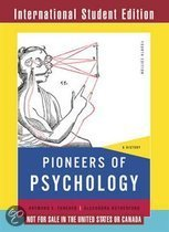 Pioneers of Psychology - A History 4e ISE