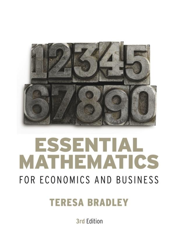 9780470018569-Essential-Mathematics-For-Economics-And-Business