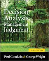 9780470714393-Decision-Analysis-for-Management-Judgment
