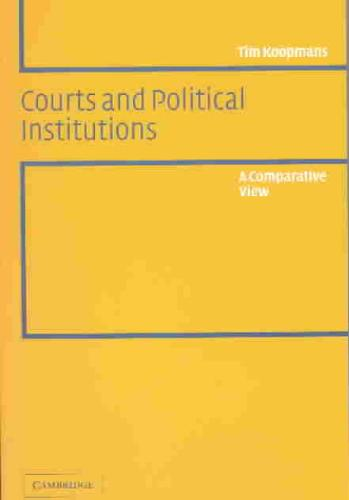 9780521533997-Courts-and-Political-Institutions