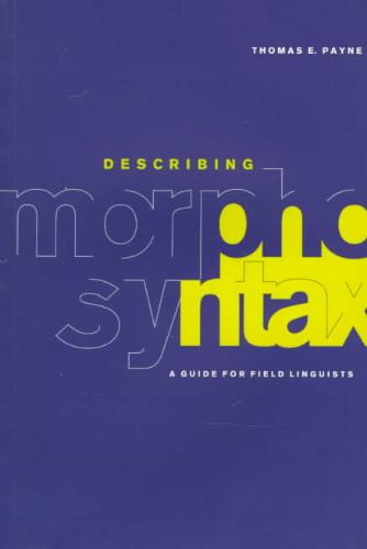 9780521588058-Describing-Morphosyntax