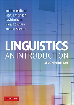 9780521614788-Studyguide-for-Linguistics-by-Radford-Andrew-ISBN-9780521614788