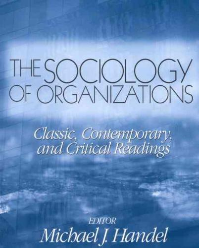 9780761987666-The-Sociology-of-Organizations