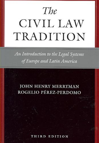 9780804755696-The-Civil-Law-Tradition