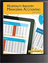 Hospitality Industry Managerial Accounting
