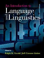 9781107637993-An-Introduction-to-Language-and-Linguistics