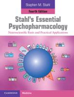 9781107686465-Stahls-Essential-Psychopharmacology