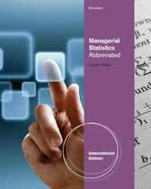 9781111534288-Managerial-Statistics-Abbreviated-International-Edition-with-Printed-Access-Card