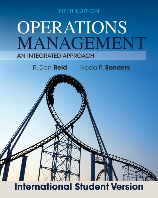 Operations Management Fifth Ed Intnl