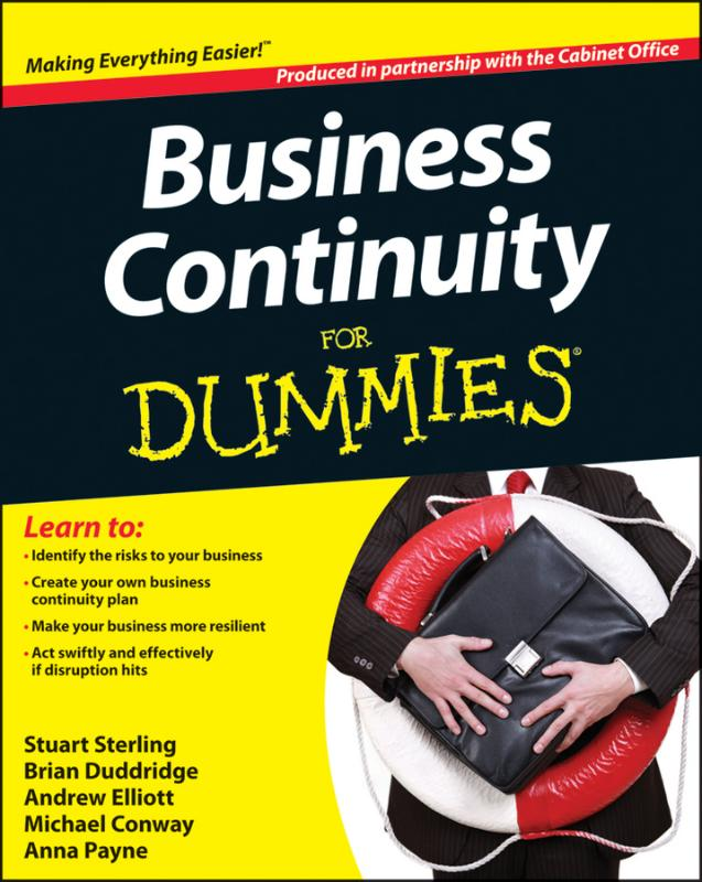 9781118326831-Business-Continuity-For-Dummies