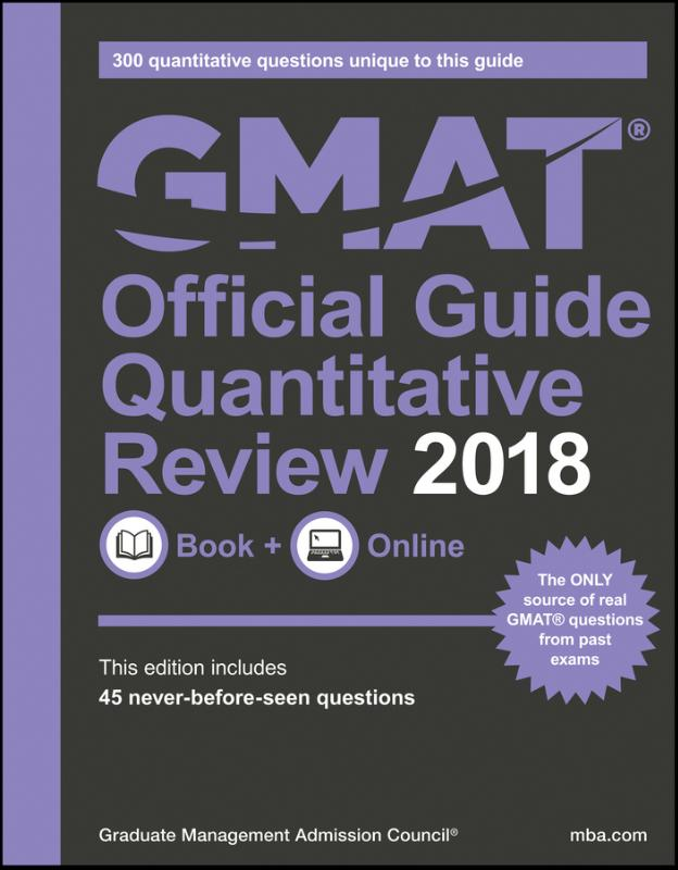 GMAT Official Guide 2018 Quantitative Review