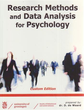 Research methods and data analysis for psychology