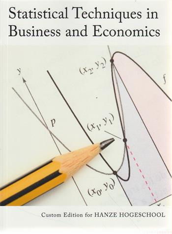 Statistical Techniques In Business And Economics, Custom Reader For Hanze