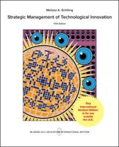 Strategic Management of Technological Innovation