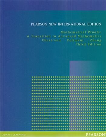 Mathematical Proofs: Pearson  International Edition