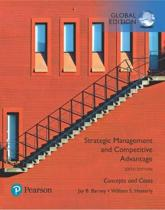 Strategic Management and Competitive Advantage: Concepts and Cases, Global Edition