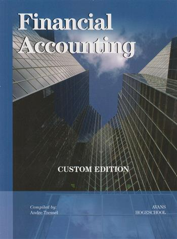 Financial Accounting, Custom Edition