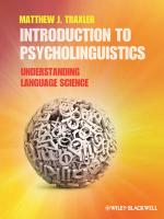 9781405198622-Introduction-To-Psycholinguistics