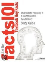 9781408030479-Studyguide-for-Accounting-in-a-Business-Context-by-Berry-Aidan-ISBN-9781408030479