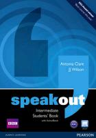 Speakout Intermediate Students Book And Dvd