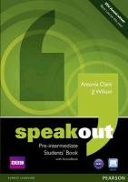 Speakout Pre-Intermediate Students Book And Dvd