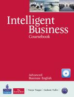 9781408255971-Intelligent-Business-Advanced-CoursebookCd-Pack