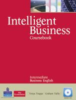 9781408255995-Intelligent-Business-Intermediate-CoursebookCd-Pack