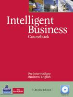 9781408256008-Intelligent-Business-Pre-Intermediate-CoursebookCD-Pack