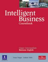 9781408256015-Intelligent-Business-Upper-Intermediate-CoursebookCd-Pack