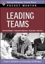 9781422101841-Pocket-Mentor-Leading-Teams