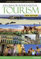 English for International Tourism Upper Intermediate New Edition Coursebook and DVD-ROM Pack
